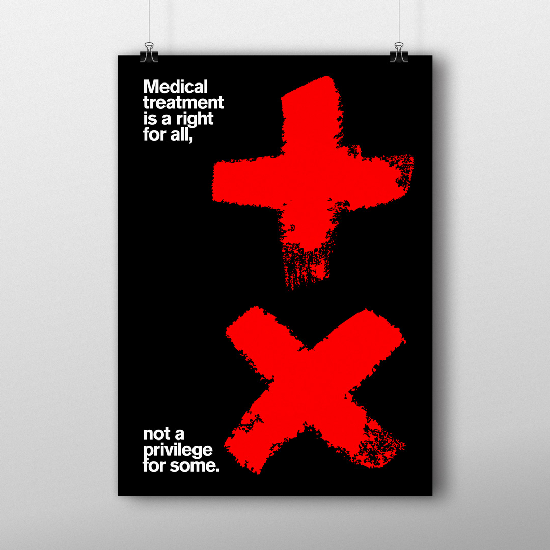 What a Difference 45° Makes! — Poster for Good 50×70